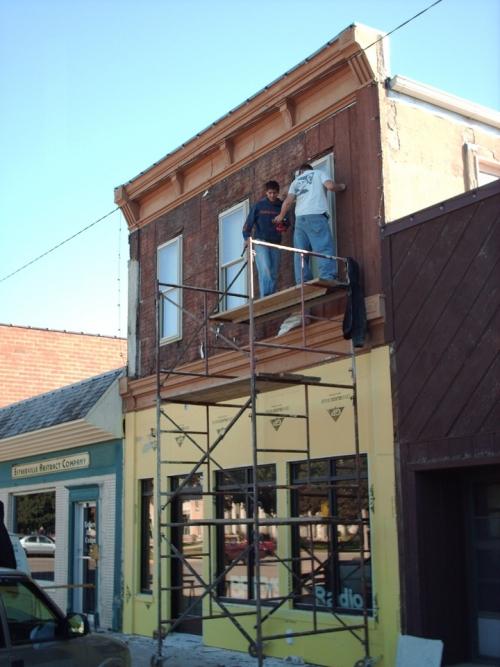 Stucco Installation On Brey S Radio