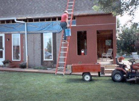 1994 Gambrel Roof Project