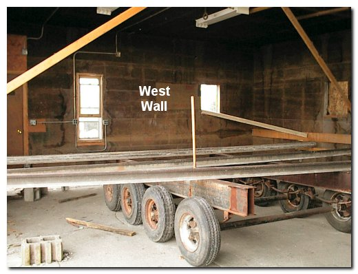 the first picture shows the large trailer chassis that they moved into the old shop when they began work it is a 4 axle mobile home frame and was - Mobile Home Frame