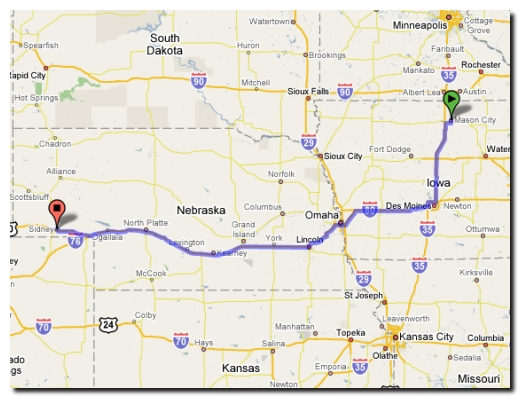 where is sidney nebraska on the map Sandy And Dan S Trip To Sunset Utah where is sidney nebraska on the map